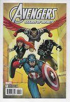 Avengers Shards of Infinity #1 Lim Variant Comic 1st Print 2018 unread NM
