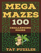 Mega Maze Puzzle Book NEW