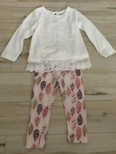 Baby Girl 2 Piece SET Lace Outfit Clothing 24 Months