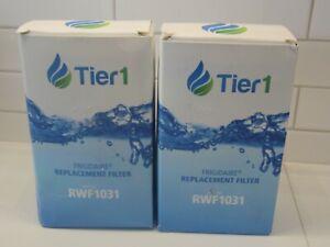 Lot of 2 Tier1 RWF1031 Replacement Refridgerator Filter - Fits Frigidaire Brand