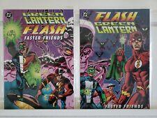 Flash Green Lantern Faster Friends 1 2 DC Complete Set Series Run Lot 1-2 VF/NM