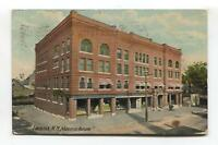 Laconia, New Hampshire - Masonic Temple - 1912 used USA postcard