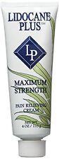 Lidocaine Plus - Pain Relieving Cream - Maximum Strength, 4 oz by Lidocaine Plus
