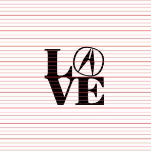 LOVE Sticker Decal JDM Acura style Integra Vigor Legend RSX TSX NSX ILX RDX MDX