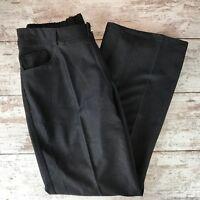 Iman women's charcoal gray jogger style pants Large rayon