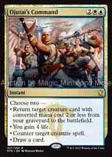 Dragons of Tarkir ~ OJUTAI'S COMMAND rare Magic the Gathering card