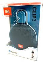 Jbl Clip 3 - Waterproof Portable Bluetooth Speaker - Ocean Blue - Dark