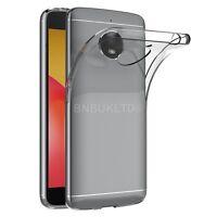 Transparent Clear Silicone Slim Gel Case For Motorola Moto E4 Plus