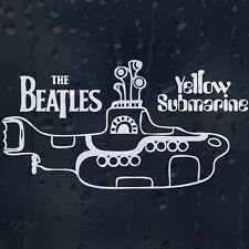 The Beatles Yellow Submarine Coche Decal Pegatina De Vinilo Para Ventana O Parachoques