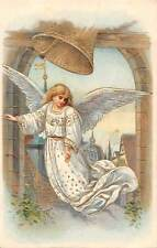 Beautiful Woman Angel , Bell, Gold, Fantasy