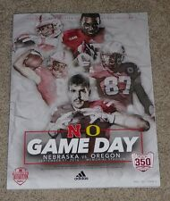 2016 Nebraska Cornhuskers vs Oregon Ducks Football Program 350th sellout 9-17-16