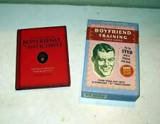 Boyfriend Training Flash Cards Put the STUD Back + If Boyfriend Is An Antichrist