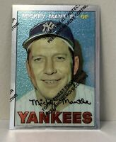 1996 Topps * Mickey Mantle * Finest Refractor  #17  *