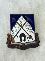 Authentic US Army 87th Infantry Regiment DI DUI Crest Insignia E25