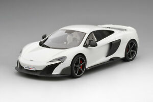 TS0006 - 1/18 MCLAREN 675LT SILICA WHITE LIMITED 999 PIECES (RESIN)