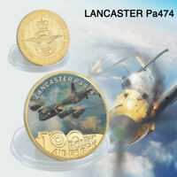 WR Aircraft Model Commemorative Coin Lancaster pa474 Air Collection Gifts