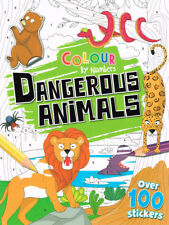 Colour by Numbers – Dangerous Animals ISBN 978-1-78670-738-3 Autumn Publishing