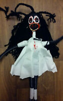 Gothic Doll,Bloody Zombie,Halloween,Black Voodoo Doll,Evil Dead,Witch Doctor