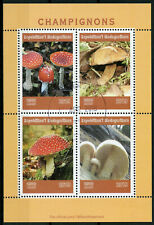 Madagascar 2019 CTO Mushrooms Fly Agaric 4v M/S Champignons Fungi Nature Stamps
