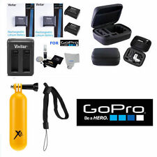 X2 AHDBT 401 Battery for GoPro HD Hero4 SILVER/BLACK + ACCESSORY SET + HARD CASE