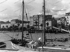 negativ-Split-Dalmatien -Kroatien-1930 er Jahre-Hafen-schiffe-11