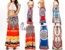 Regular Size Floral Long Full Skirts for Women