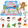 12 x CHRISTMAS TEMPORARY TATTOOS SANTA SNOW SLEDGE ELF REINDEER STOCKING FILLER