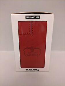 ULTIMATE GUARD FLIP n TRAY RED 80+ XENOSKIN DECK CASE Card Box MTG CCG Game