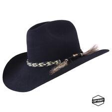 Akubra Rough Rider Hat - Black