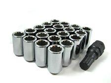 20 Pc Set Tuner Lug Nuts ¦ 12x1.5 ¦ Chrome for Hyundai Kia