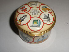 Large English Halcyon Days Enameled Box Time Capsule 2000 Limited Numbered