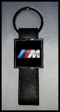 Porte-clés Acier/Simili Cuir logo BMW M