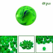 HP 48pc Green Glow in The Dark Bouncing Balls Party Favors Arcade Prizes