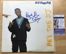 DJ JAZZY JEFF & The FRESH PRINCE SIGNED HE'S THE DJ VINYL RECORD ALBUM w/JSA COA