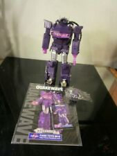 TRANSFORMERS FANSTOYS FT-03T MASTERPIECE QUAKE WAVE QUAKEWAVE SHOCKWAVE~~