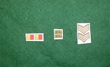 1/6 ww2 di British Royal Tank Regiment RTR titoli spalla patch set lotto