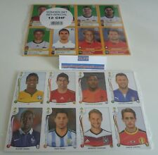 Panini coupe du monde stickers 2010 (Suisse) + 2014 Extra UPDATE STICKER SETS Scellé