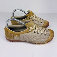 Keen Mercer Lace II Brown Mesh Suede Sneaker Shoes Womens Size 7 US