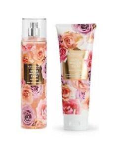 Scentworx Rose Water Rain Fragrance Set - Body Cream & Fragrance Mist