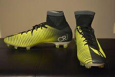 Nike Mercurial Veloce III DF CR7 FG Soccer Cleat Seaweed SZ 10 Men's 852518-376