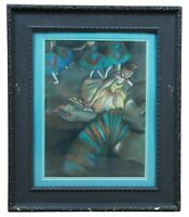 """JT Ward After Degas """"Ballet Scene from Opera Box"""" Pastel Painting Dancers 26"""""""
