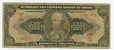 Brazil ... P-148 ... 500 Cruzeiros ... ND(1949) ... *VG+*