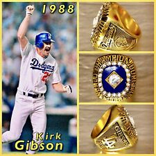 Los Angeles Dodgers Kirk Gibson 1988 Championship Ring Size 11