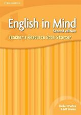 English in Mind Starter Level Teacher's Resource Book, Hart, Brian, Very Good co