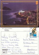 1990's GARACHICO TENERIFE CANARIES SPAIN COLOUR POSTCARD