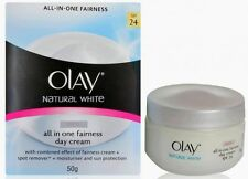 50 g Olay Natural White All in One Fairness Day Cream Whitening Facial  SPF 24
