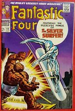 Fantastic Four 55 Marvel Silver Age 1966 Fourth appearance of Silver Surfer