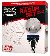 Wilkinson Sword Hydro 5 Star Wars Rasurset/Geschenkset : Rasierer + Wandhalter
