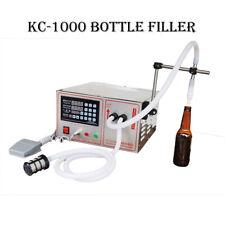 Kc1000 Automatic Wine/Beer/Beverage Bottle Filler or other liquid Filling bottle