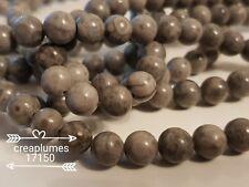 lot de 10 perles pierre medicinales 8mm
